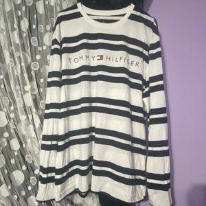 Tommy Hilfiger Men's Striped Long Sleeve size XL